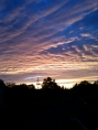 The sky above the Shed of Solicitation